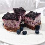 Blueberry Pie Frozen Yogurt Bars
