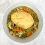 Chickpea Pot Pie Stew