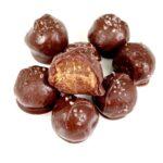 Salted Date Caramel Truffles