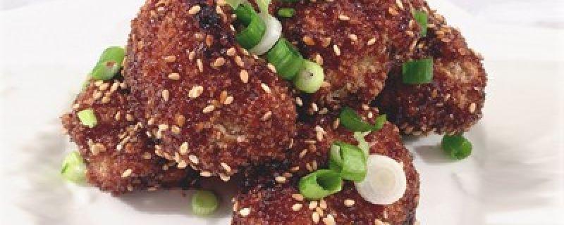 Sesame Cauliflower Bites