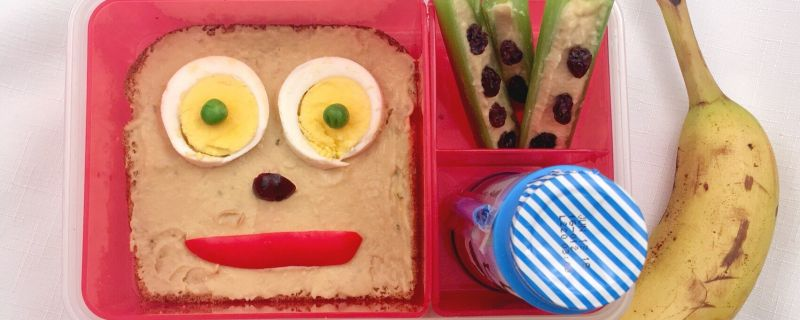 Kids in the Kitchen:  Egg Face