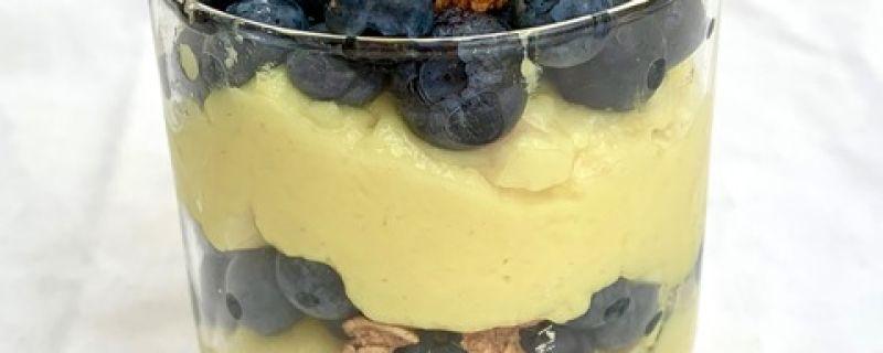 Lemon Blueberry Pudding Parfaits