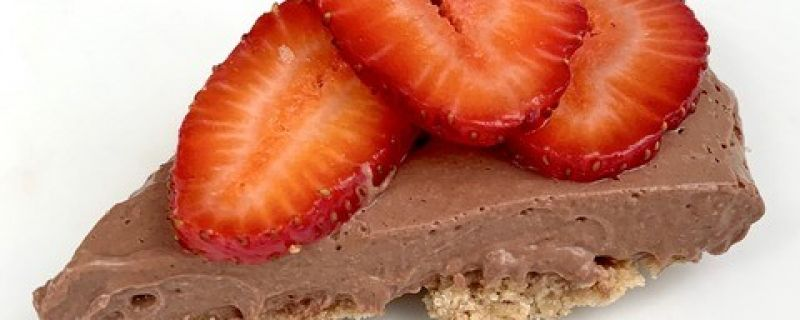 Dark Chocolate Mousse Tart
