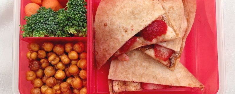 "Kids in the Kitchen:  Sunflower Butter ""Quesadilla"""