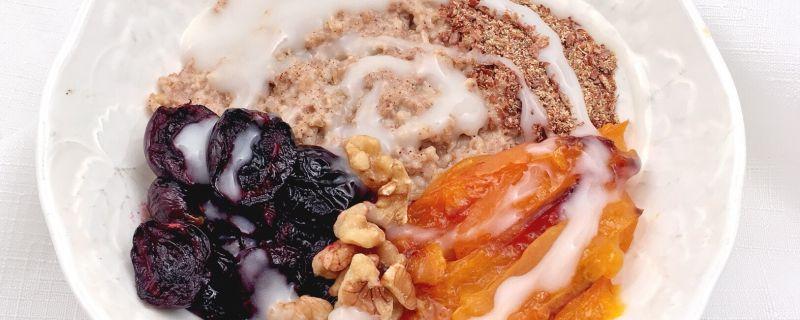 Sweet Breakfast Grain Bowl
