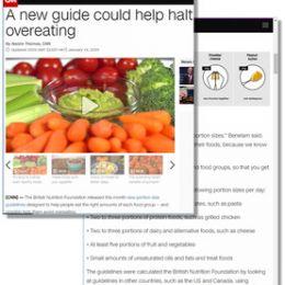 CNN.com: A new guide could help halt overeating