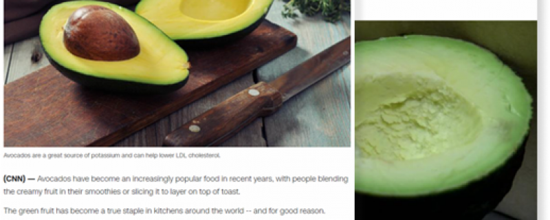 CNN.com: Benefits of avocados: 4 ways they are good for your health