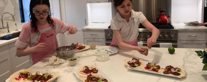 CNN.com: Get your kids to start cooking at home