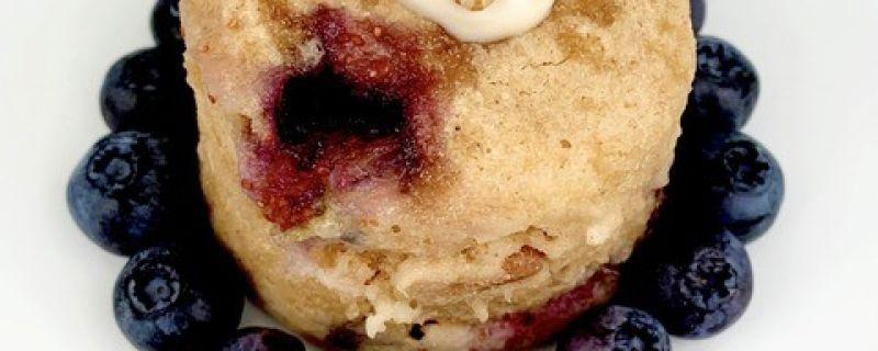 Blueberry Walnut Mug Muffin