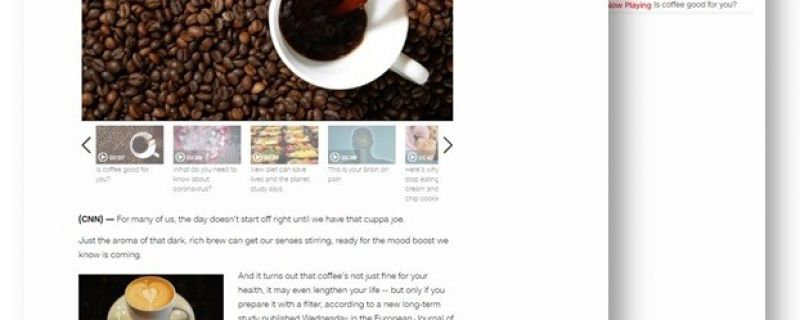 CNN.com: The healthiest way to brew your coffee — and possibly lengthen your life