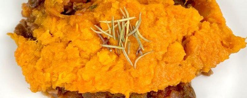 Sweet Potato Lentil Shepherd's Pie