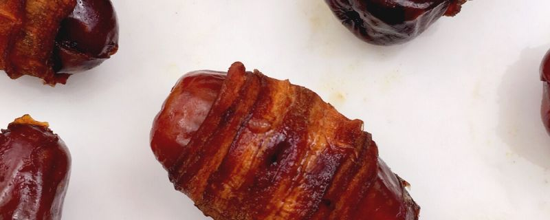 Carrot Bacon Wrapped