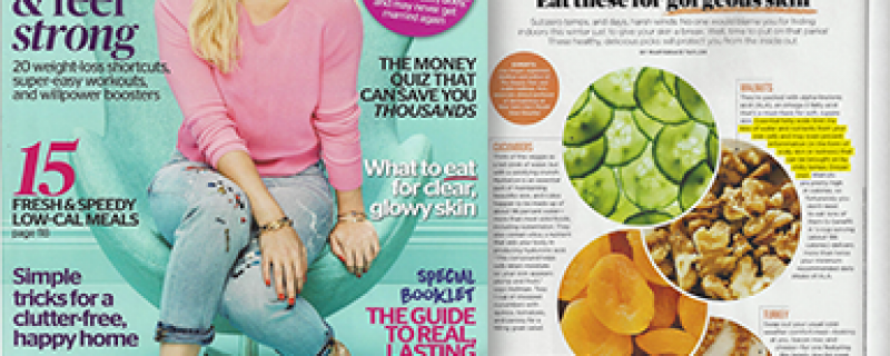 Redbook: Eat These for Gorgeous Skin