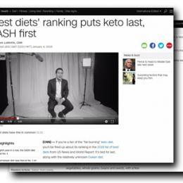 CNN.com: 'Best diets' ranking puts keto last, DASH first