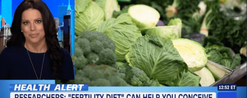HLN: Study: 'Fertility diet' can improve chance of pregnancy